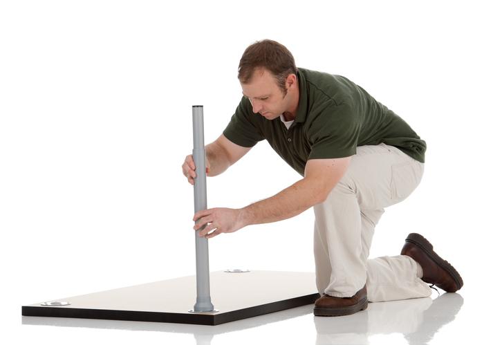 tischplatte befestigen diese m glichkeiten haben sie. Black Bedroom Furniture Sets. Home Design Ideas