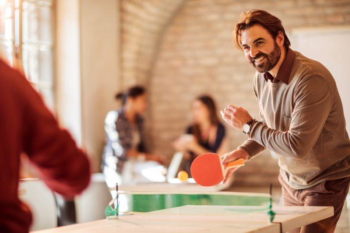 Tischtennisplatte Eigenbau
