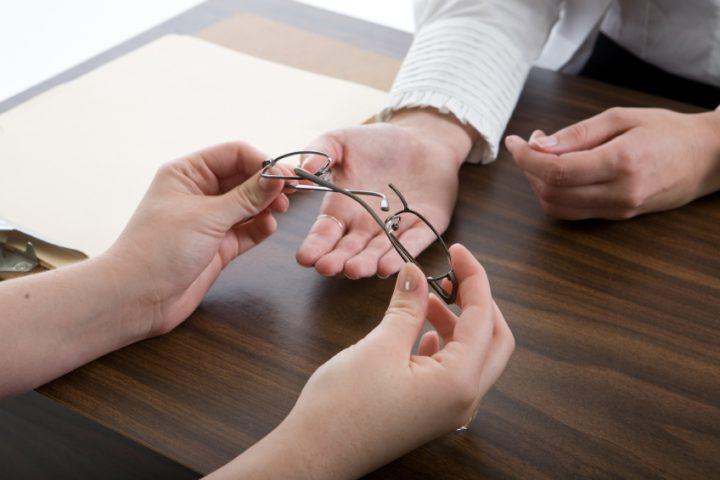 Titanbrille reparieren