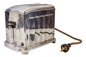 Alte Toaster Asbest