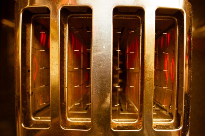 Toaster kaputt