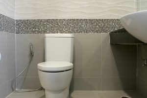 Toilette fliesen