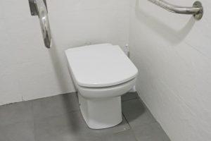 Toilette montieren
