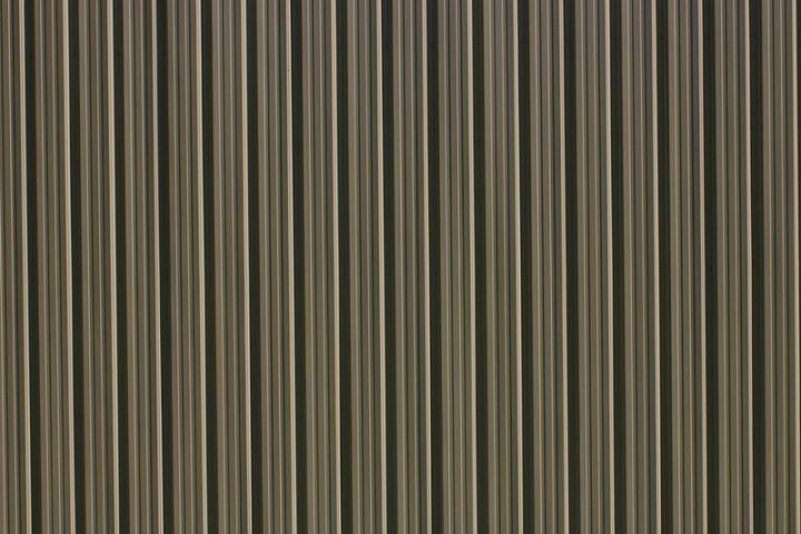Trapezblech Wand