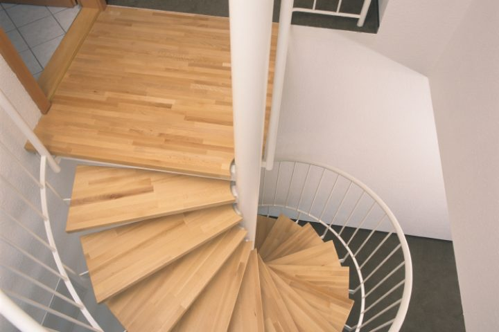 Treppe Parkett