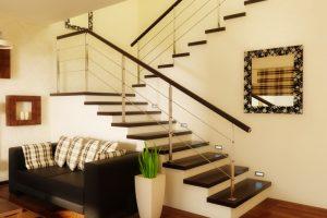 Treppe Zwischenpodest