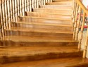 Treppe abkleben