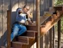 Treppe einbauen