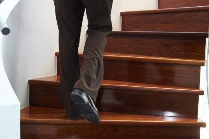 Treppe isolieren