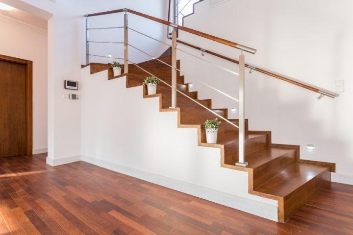 Treppe lackieren