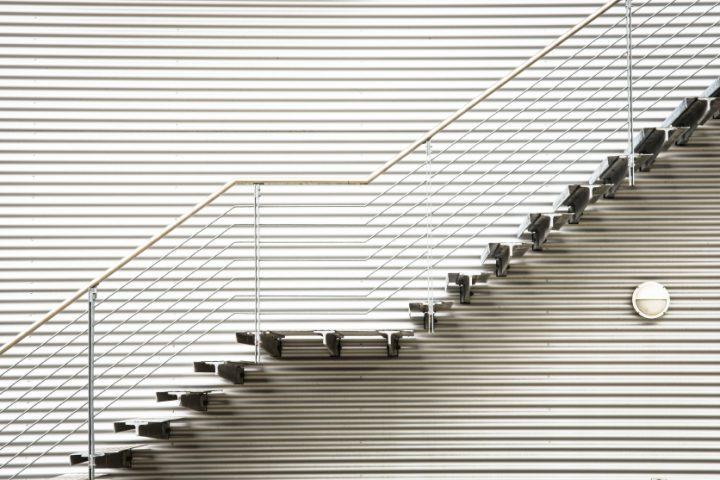 Treppe schließen
