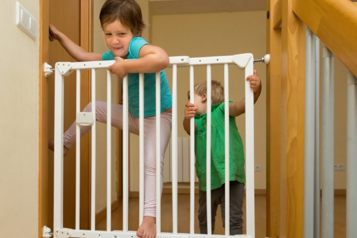 Treppe sichern
