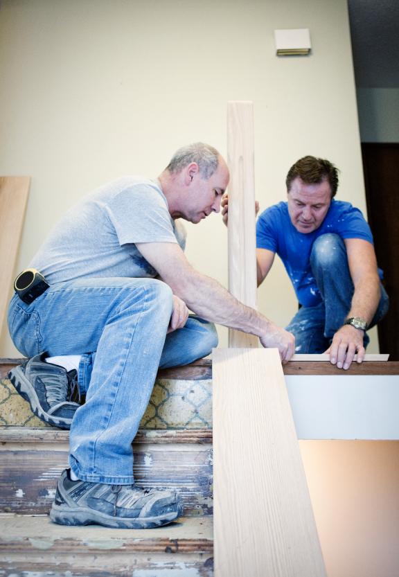 treppe umbauen warum wie macht man das. Black Bedroom Furniture Sets. Home Design Ideas