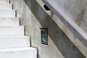 Treppe verputzen