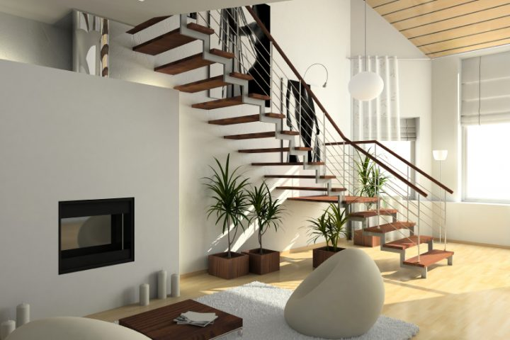 Treppe versetzen