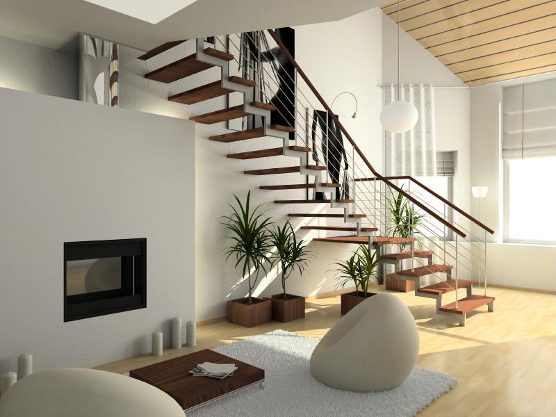 treppen im haus wohn design. Black Bedroom Furniture Sets. Home Design Ideas