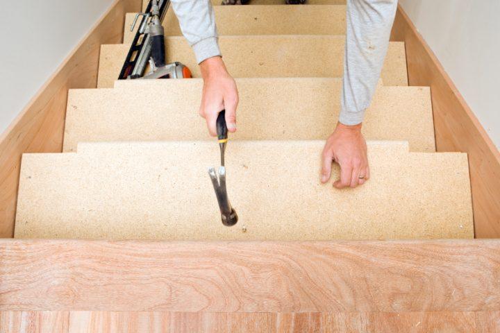 Beliebt Treppe verziehen » So wird's gemacht UQ54