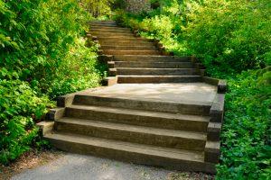 Treppen Podest bauen