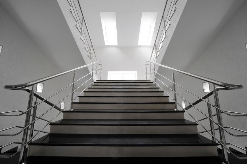 treppengel nder aus edelstahl innen diese preise sind blich. Black Bedroom Furniture Sets. Home Design Ideas
