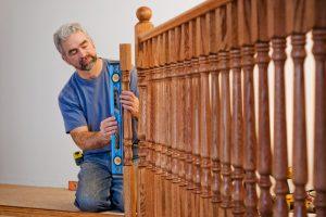 Treppengeländer Holz selber bauen