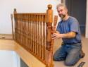 Ein Treppengeländer selber bauen