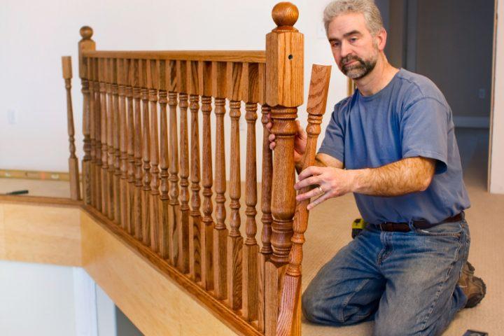 Hervorragend Treppengeländer selber bauen » So planen Sie richtig ZB77