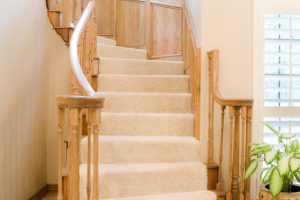 Treppengeländer sichern