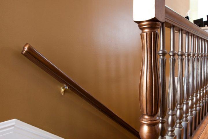 Treppengeländer verschönern