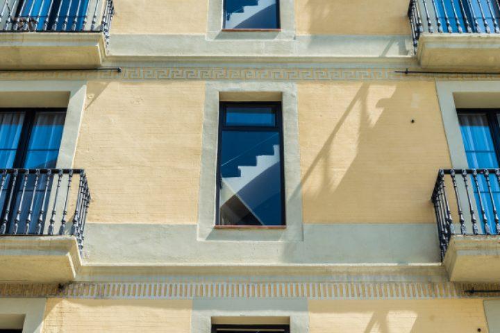 Treppenhaus Fassade