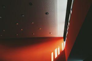 Treppenhaus farblich gestalten