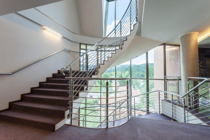 Treppenhaus lüften