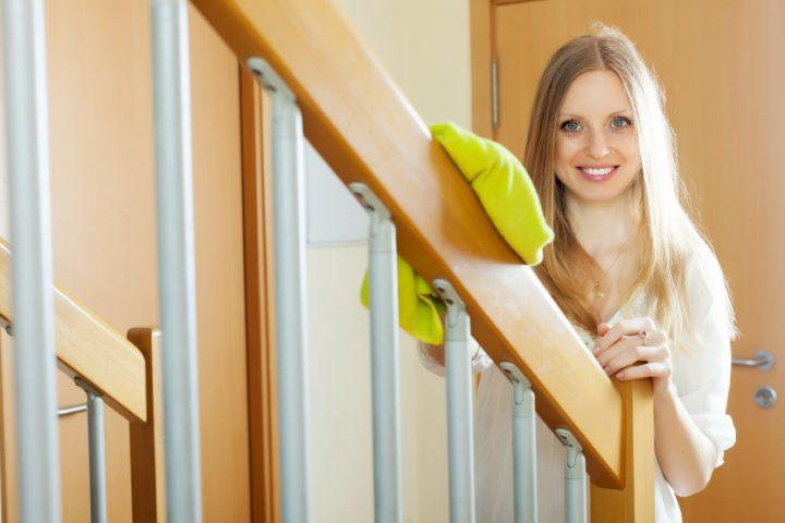 Treppenhaus reinigen
