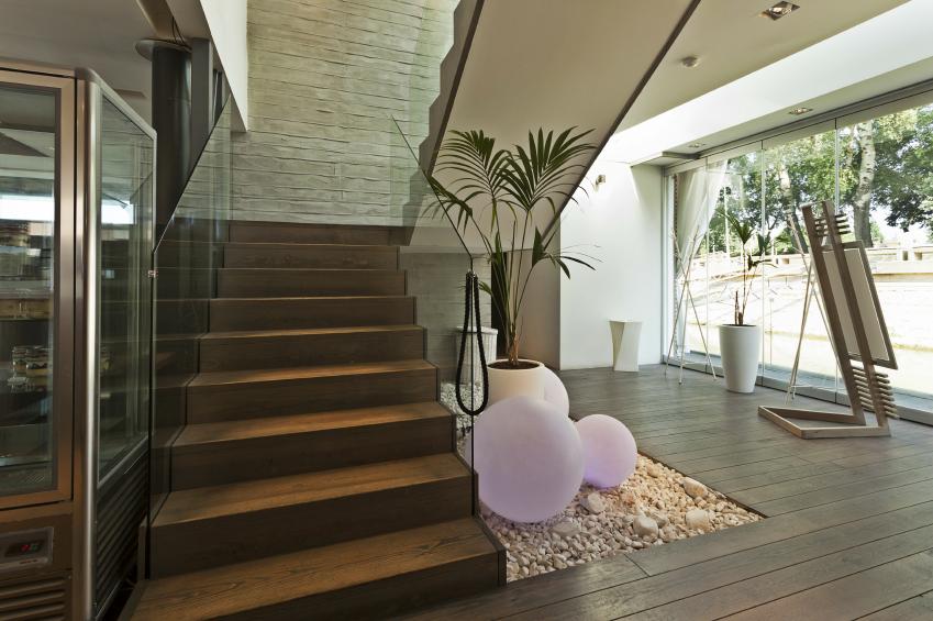 Treppen Haus treppenhaus renovieren planung gestaltungsideen