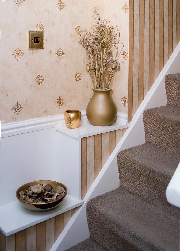 Tapeten Für Treppenaufgang treppenhaus tapezieren » so geht's am besten