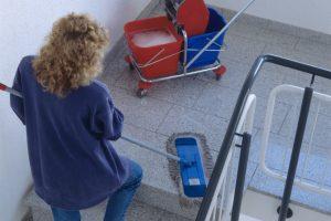 Treppenhausreinigung Mieter