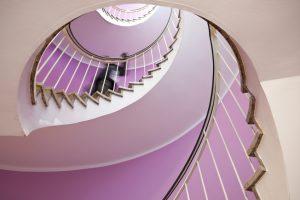 Treppenschutzgitter Wendeltreppe