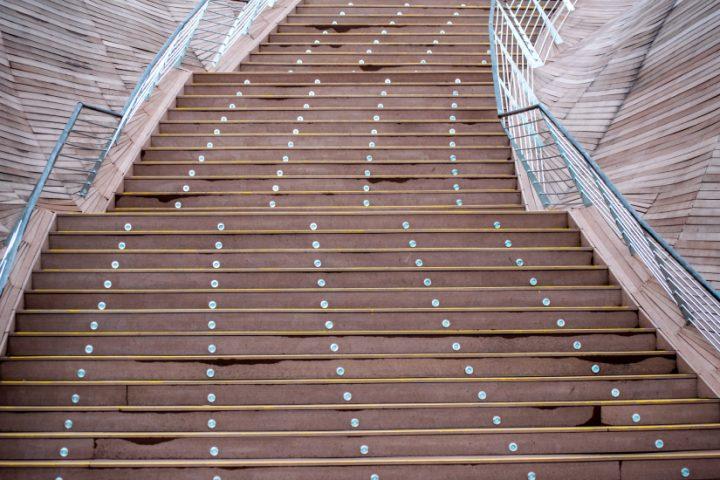 Treppenstufen Material