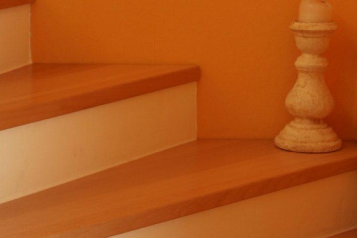 Treppenstufen abschleifen