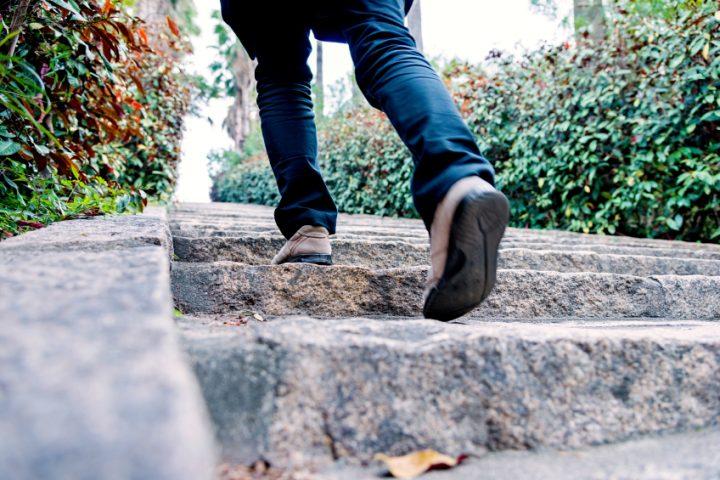 Treppenstufen ausgleichen