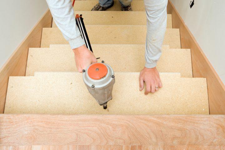 Treppenstufen bauen