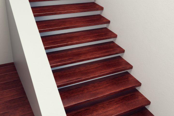 Treppenstufen knarren