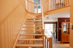 Treppenstufen schließen