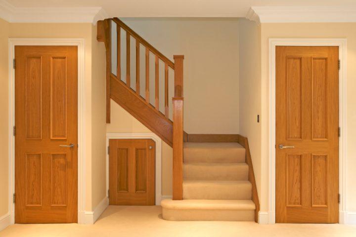 Treppenunterbau