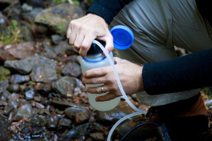 Trinkwasseraufbereitung für Trekking-und-Outdoor