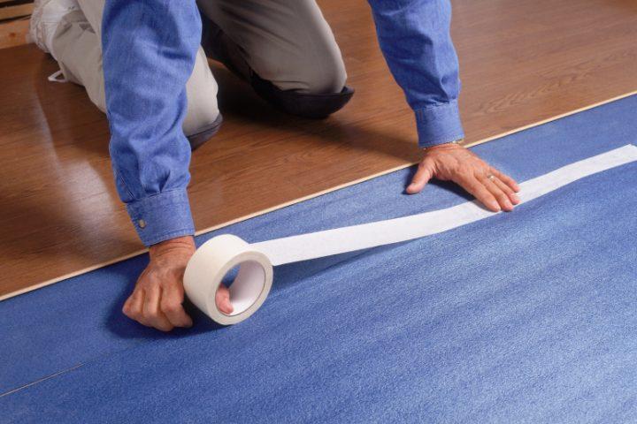 Trittschalldämmung Vinyl Fußbodenheizung