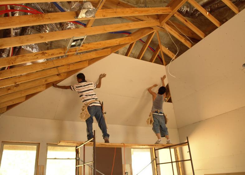 Trockenbau Decke abhängen
