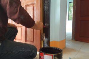Türen lackieren ohne Lackieren