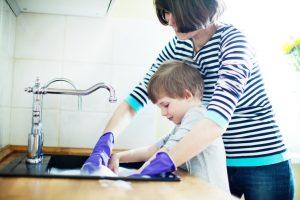 Tupperware abwaschen