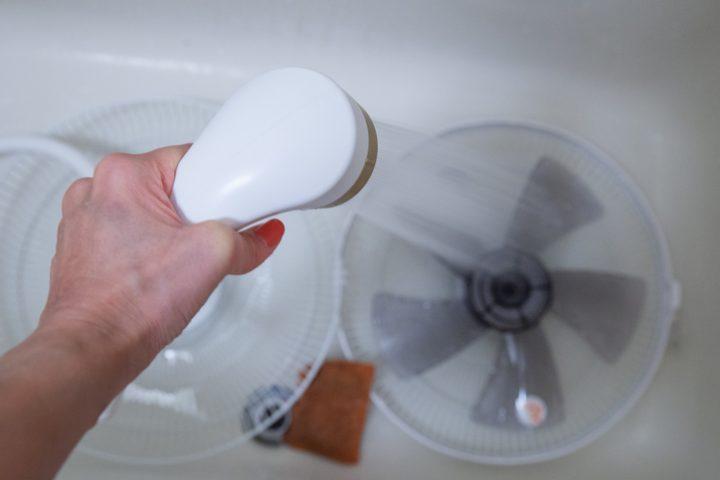 Ventilator säubern