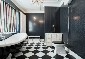 vinylboden im bad verlegen anleitung in 6 schritten. Black Bedroom Furniture Sets. Home Design Ideas